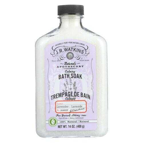 J.R. Watkins Bath Soak Calming Lavender - 14 fl oz