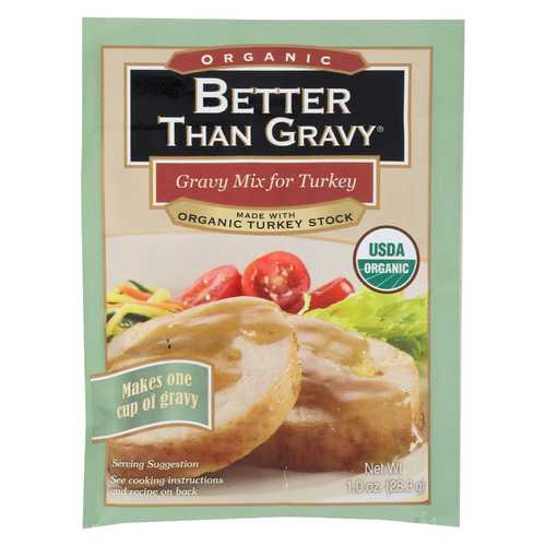 Better Than Gravy Gravy Mix - Organic - Turkey - Case of 12 - 1 oz