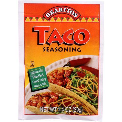 Bearitos Seasoning - Taco - 1.4 oz - case of 12