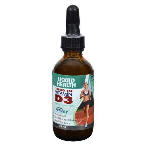 Liquid Health Vitamin D3 - 2.03 fl oz