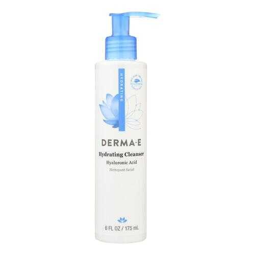 Derma E - Hyaluronic Hydrating Cleanser - 6 fl oz.
