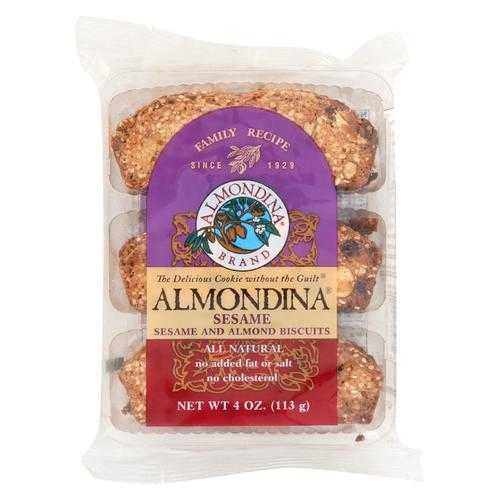 Almondina - Biscuit Sesame - Case of 12-4 oz