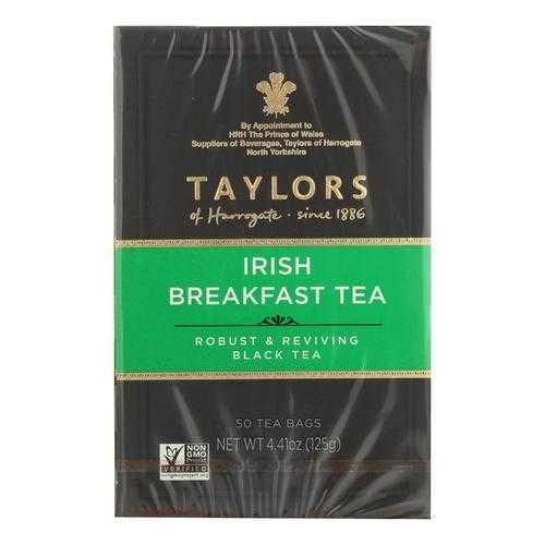 Taylors Of Harrogate Irish Breakfast Tea Bags  - Case of 6 - 50 BAG