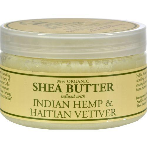 Nubian Heritage Shea Butter Infused With Indian Hemp And Haitian Vetiver - 4 oz