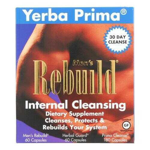 Yerba Prima Men's Rebuild Internal Cleansing - 1 Kit