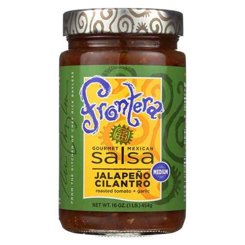Frontera Foods Jalapeo Cilantro Salsa - Jalapeo - Case of 6 - 16 oz.