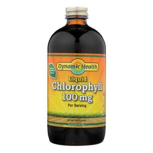 Dynamic Health Liquid Chlorophyll - 100 mg - 16 fl oz