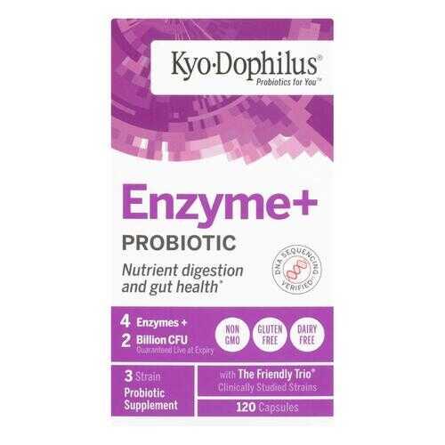 Kyolic - Kyo-Dophilus Probiotics Plus Enzymes - 120 Capsules