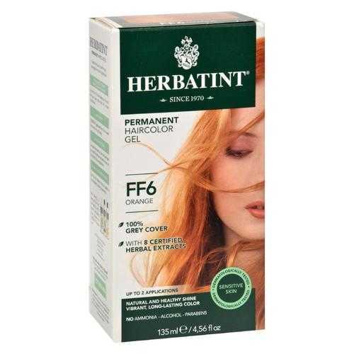 Herbatint Haircolor Kit Flash Fashion Orange FF6 - 1 Kit
