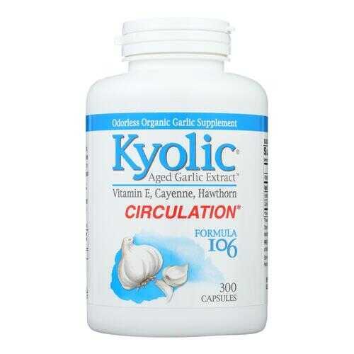 Kyolic - Aged Garlic Extract Circulation Formula 106 - 300 Capsules