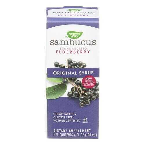 Nature's Way Sambucus Original Syrup - 4 fl oz