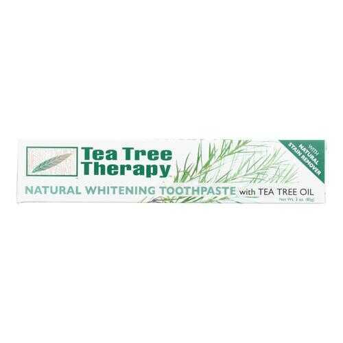 Tea Tree Therapy Natural Whitening Toothpaste - 3 oz