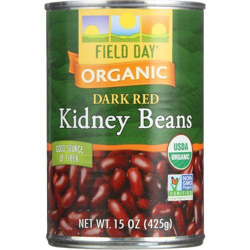 Field Day Beans - Organic - Kidney - 15 oz - case of 12