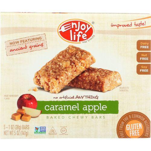 Enjoy Life Snack Bar - Caramel Apple - Gluten Free - 5 oz - case of 6
