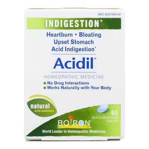 Boiron - Acidil - 60 Tablets