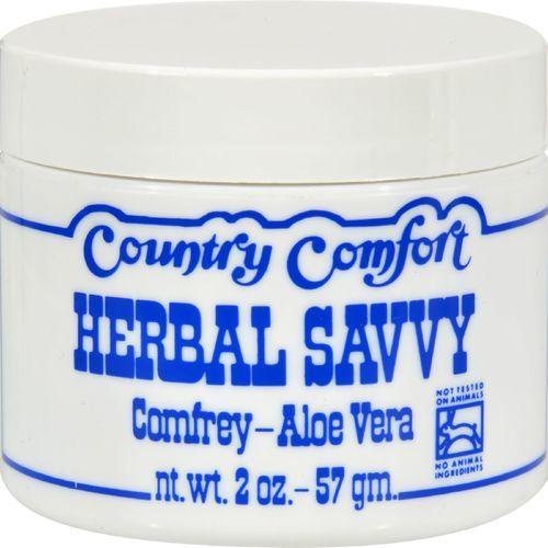 Country Comfort Herbal Savvy Comfrey Aloe Vera - 2 oz