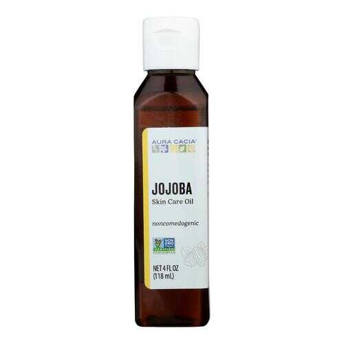 Aura Cacia Jojoba Natural Skin Care Oil - 4 fl oz