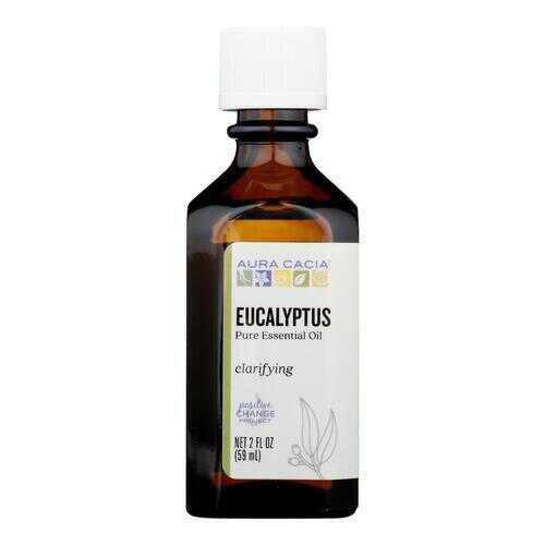 Aura Cacia - Essential Oil Eucalyptus Pure - 2 fl oz