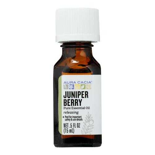Aura Cacia - Essential Oil Juniper Berry - 0.5 fl oz
