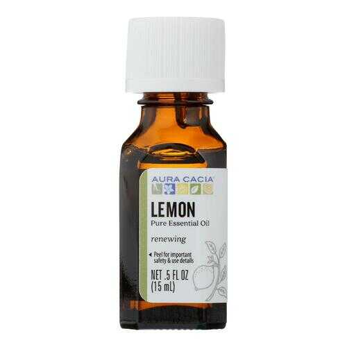 Aura Cacia - Essential Oil - Lemon - 0.5 fl oz
