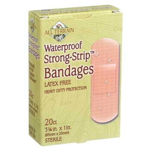 All Terrain - Bandages - Waterproof Strong Strip 1 inch - 20 Count