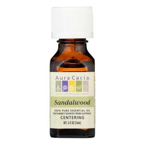 Aura Cacia - Essential Oil - Sandalwood - .5 oz