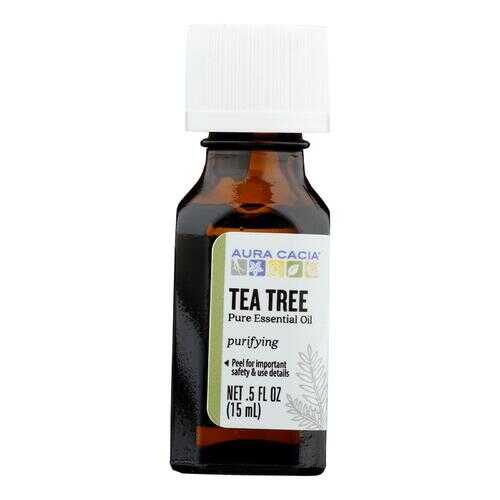 Aura Cacia - Pure Essential Oil Tea Tree - 0.5 fl oz