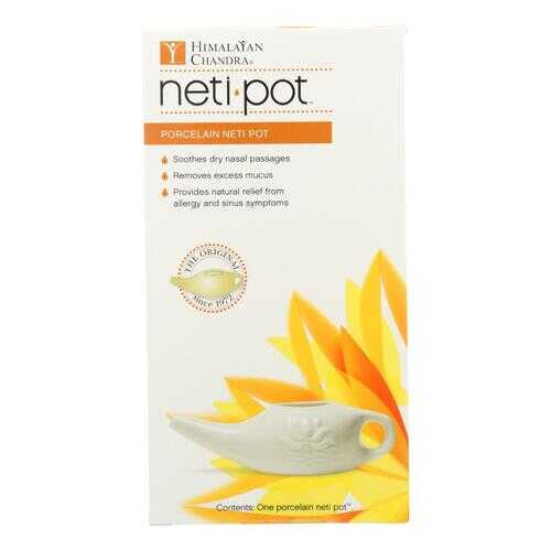 Himalayan Institute Neti Wash Ceramic Neti Pot - 1 Pot