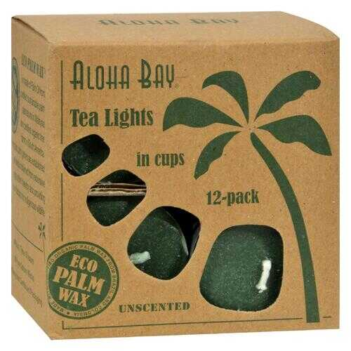 Aloha Bay - Tea Light - Green - 12/.7 oz
