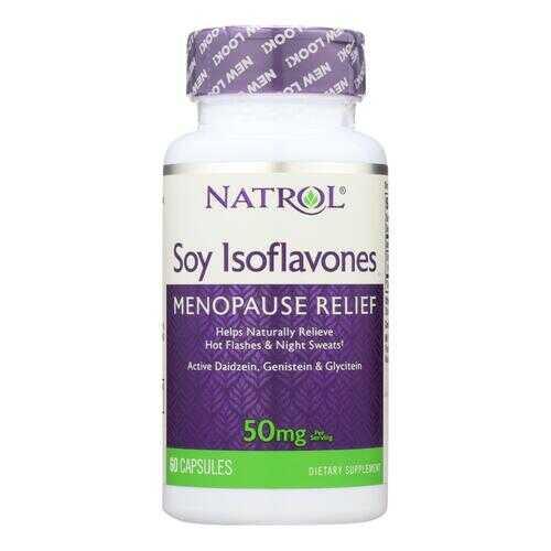 Natrol Soy Isoflavones - 60 Capsules