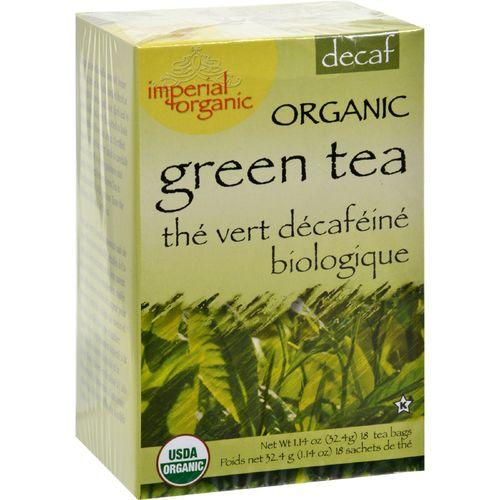 Uncle Lee's Tea Organic Imperial Decaffeinated Green Tea - 18 Bags