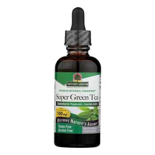 Nature's Answer - Super Green Tea Alcohol and Sugar Free - 2 fl oz