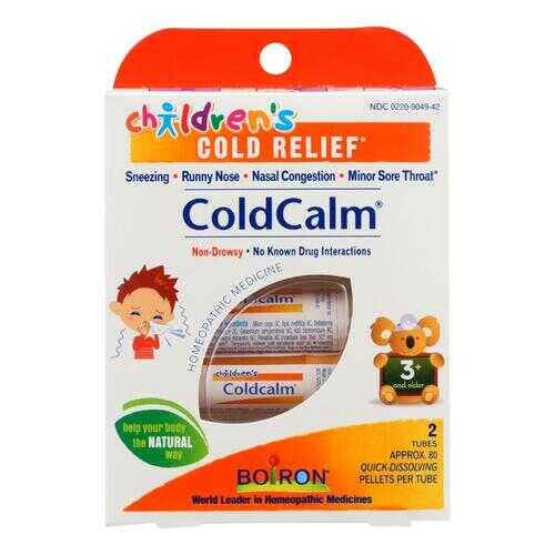 Boiron Children's Cold Calm Pellets - 2 Doses
