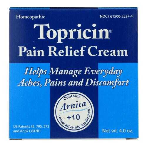 Topricin Topricin Cream Jar - 4 oz