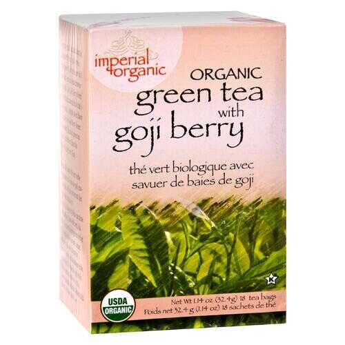 Uncle Lee's Imperial Organic Green Tea with Goji Berry - 18 Tea Bags