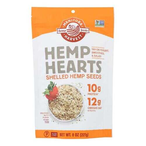 Manitoba Harvest Shelled Hemp Hearts Hemp Seed - 8 oz
