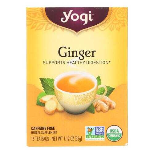 Yogi Tea Organic - Ginger - 16 Tea Bags