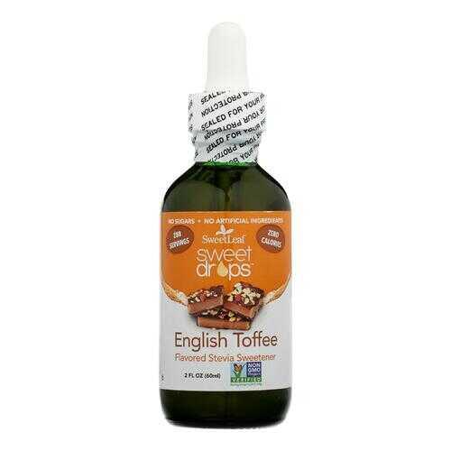 Sweet Leaf Sweet Drops Sweetener English Toffee - 2 fl oz