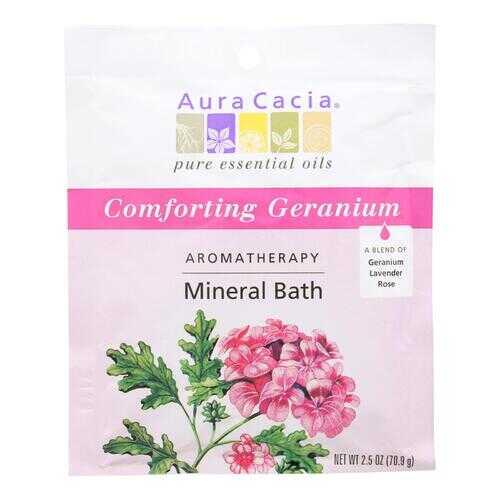 Aura Cacia Aromatherapy Mineral Bath Heart Song - 2.5 oz - Case of 6