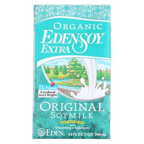 Eden Foods Original Eden soy Organic - Extra - Case of 12 - 32 Fl oz.
