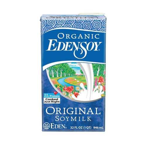 Eden Foods Eden soy Organic Original Soymilk - Case of 12 - 32 FL oz.
