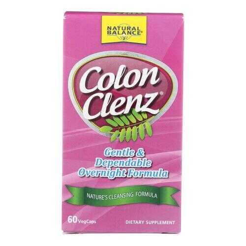 Natural Balance Colon Clenz - 60 Vegetable Capsules