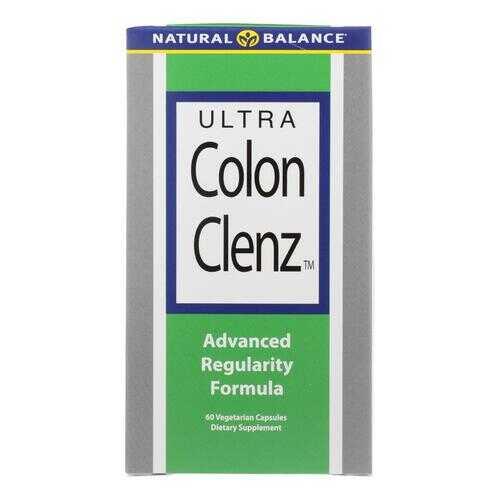Natural Balance Ultra Colon Clenz - 60 Vegetarian Capsules