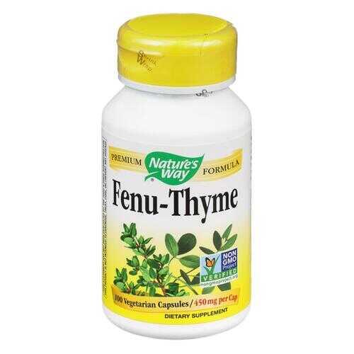 Nature's Way - Fenu-Thyme - 100 Capsules