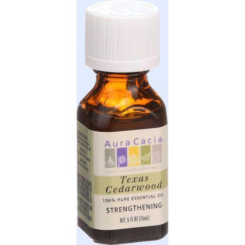 Aura Cacia - Essential Oil - Cedarwood Texas - .5 oz