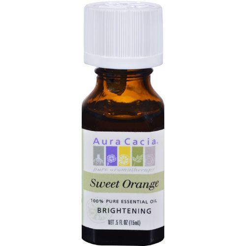 Aura Cacia - Essential Oil Sweet Orange - 0.5 fl oz