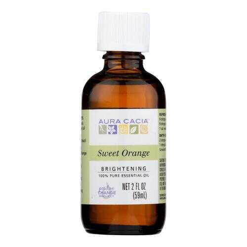 Aura Cacia - Essential Oil - Brightening Sweet Orange - 2 oz