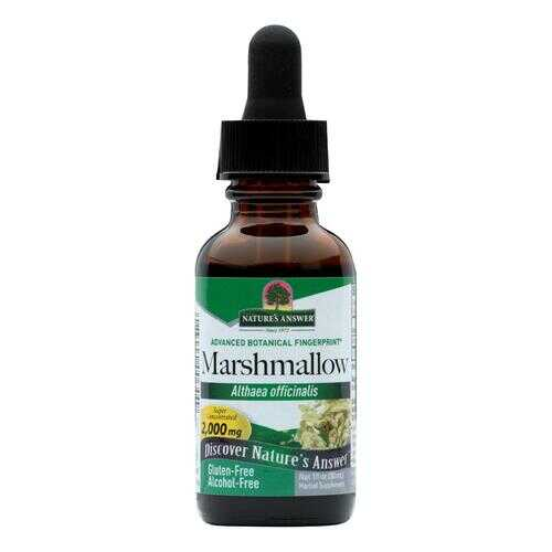Nature's Answer - Marshmallow Root Alcohol Free - 1 fl oz