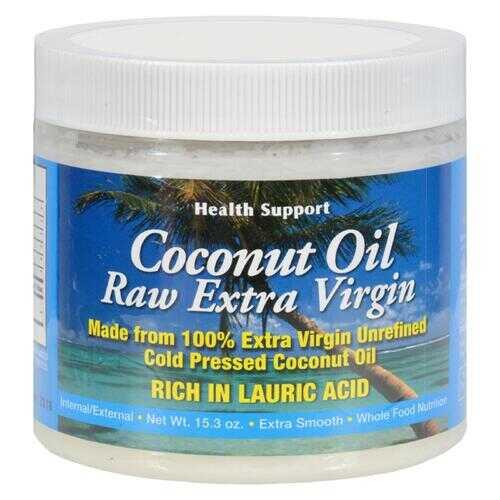 Health Support Raw Coconut Oil - 15.3 fl oz