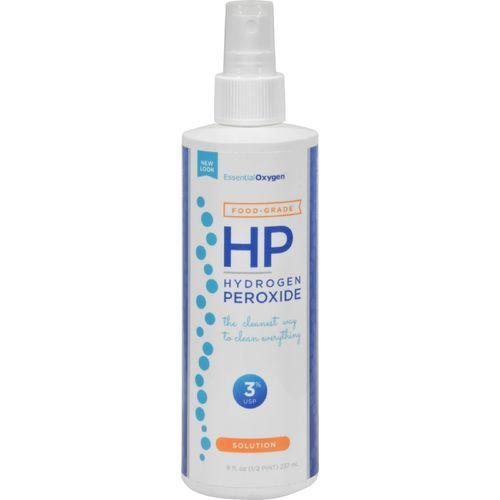 Essential Oxygen Hydrogen Peroxide 3% - Food Grade Spray - 8 oz